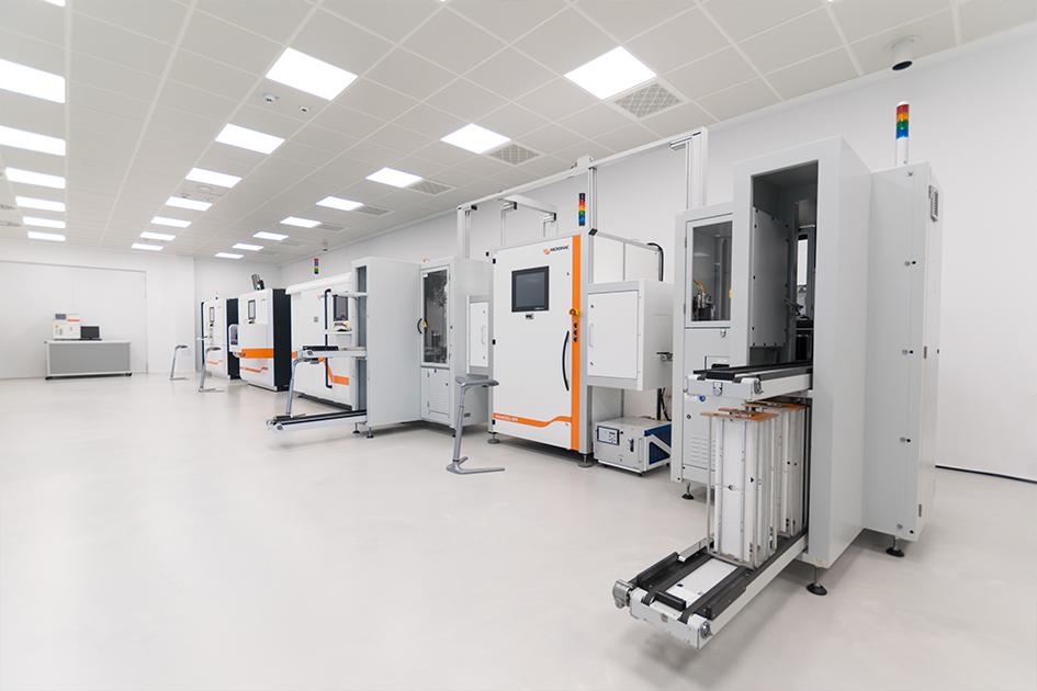 Hocheffiziente Lasersysteme zur Bearbeitung von Silizium-Solarzellen